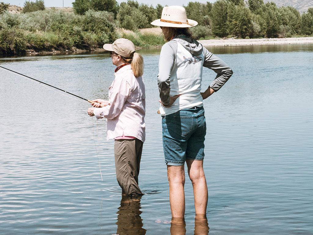 Lori Ann Murphy, Reel Women Flyfishing calss, Womens flyfishing events
